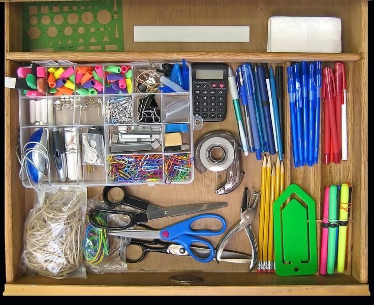 Declutter Your Desk Organizational Steps Projectlife