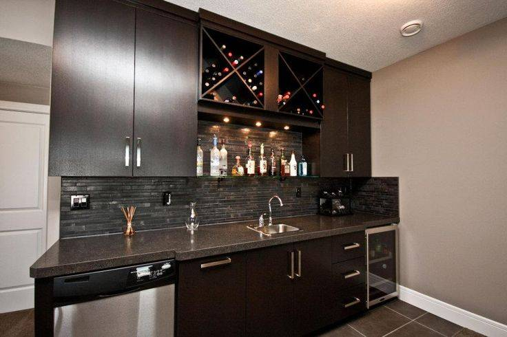 Deluxe Basement Bar Man Cave Pinterest