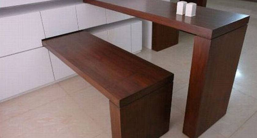 Design Small Dining Room Decoration Space Saving Wooden Furniture