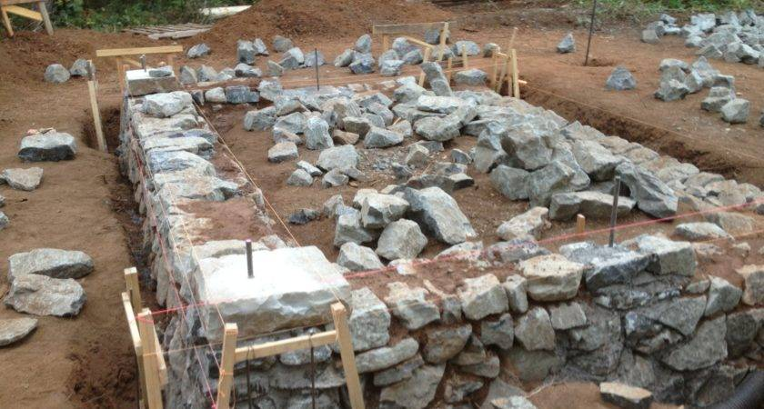 Did Build Stone Foundation Your Cob House Any