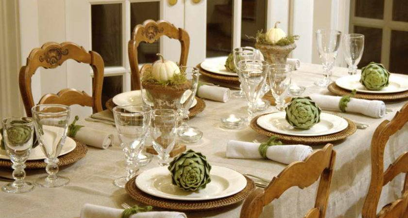 Dining Table Ideas Decorate