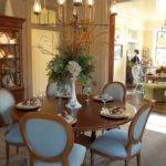 Dining Table Kitchen Wood Centerpieces Delectable