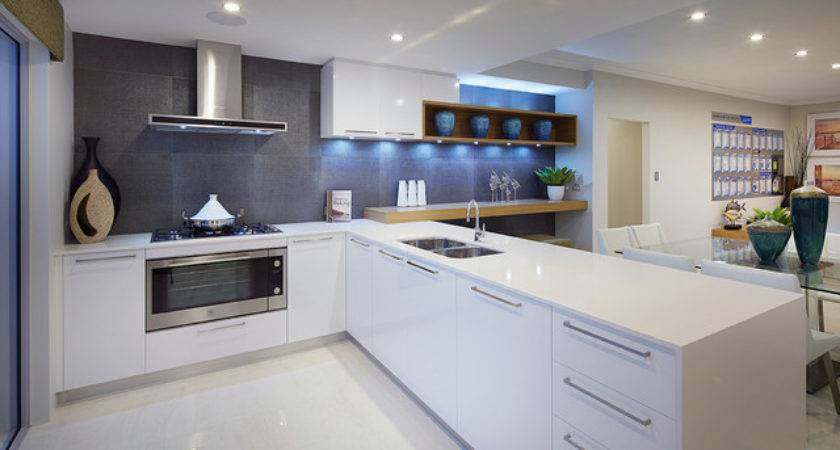 Display Home Meridian Contemporary Kitchen