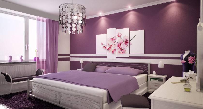 Distinctly Feminine Purple Unusual