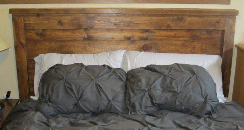 Diy Headboard Reclaimed Wood Cotcozy