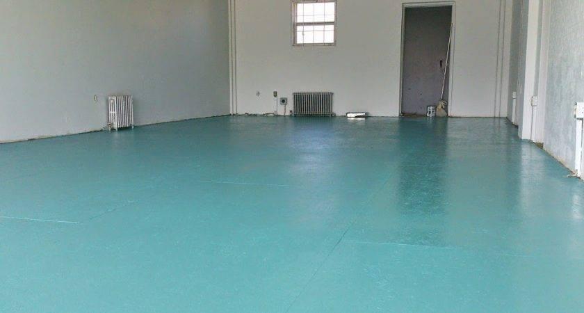 Diy Painted Particle Board Floor Mmmm Teal Dans