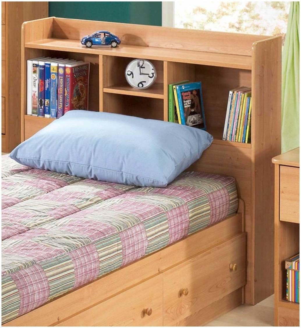 Diy Shelf Headboard Trendy Top Queen Storage