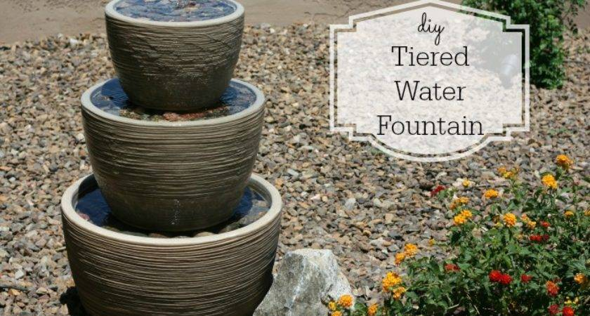 Diy Tiered Water Fountain Addicted