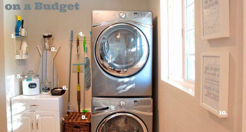 Domestic Charm Organizing Laundry Room Budget