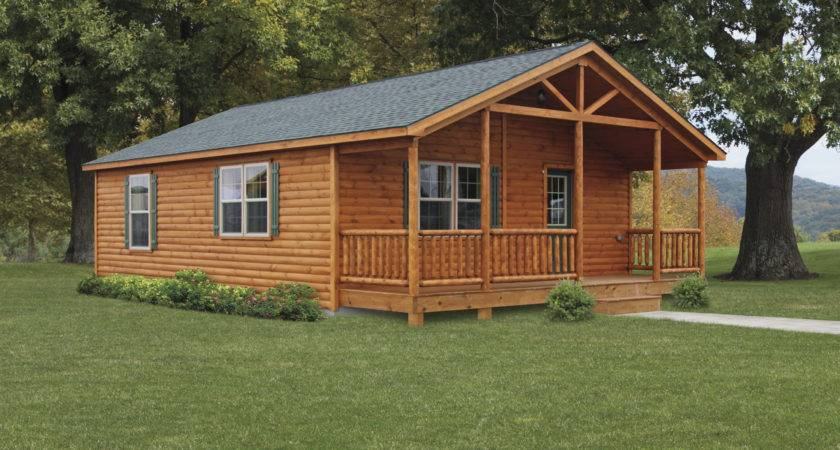 Double Module Settler Log Cabins Manufactured