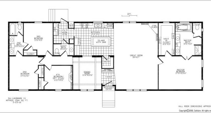 Double Wide Floor Plans Bedroom Indiepedia