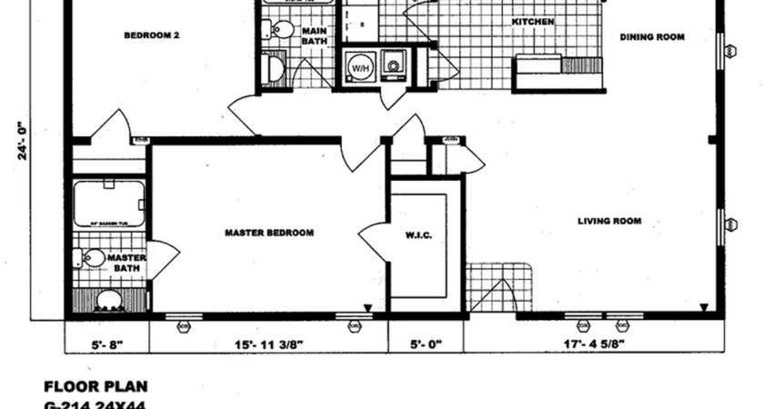 Double Wide Floor Plans Bedroom Single