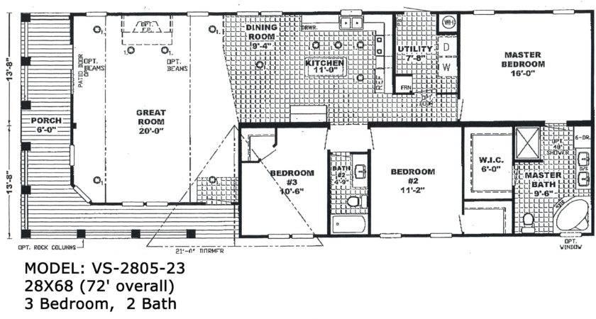 Double Wide Floorplans