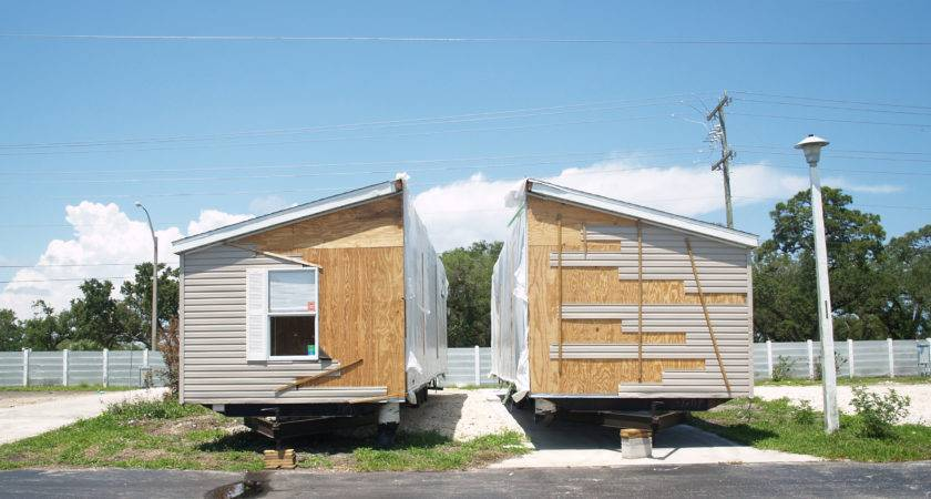 Double Wide Home Split Preparation Hauled Out