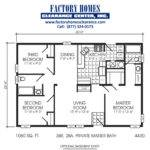 Double Wide Homes Under Sqft