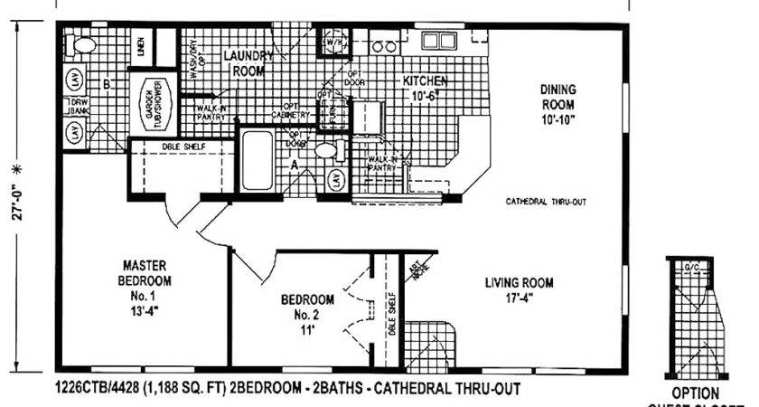 Double Wide Mobile Home Floor Plans Best Ideas