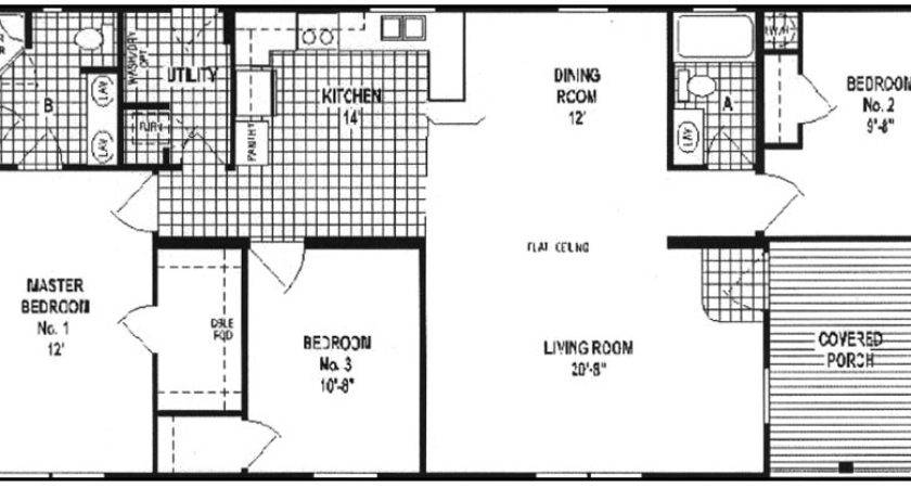 Double Wide Mobile Home Floor Plans Guide Look Latest