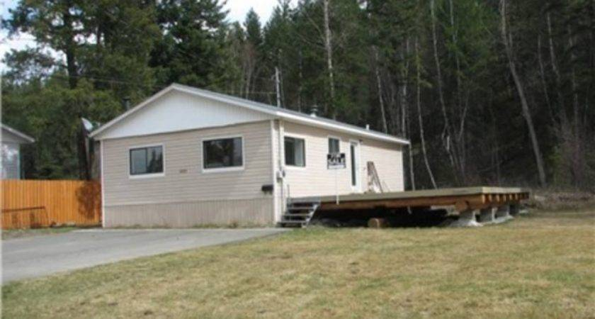 Double Wide Mobile Home Moved British Columbia Homes