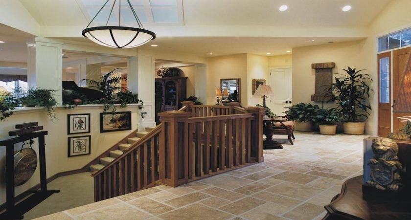 Dreams Custom Home Rick Bernard Homes Foyer Stair