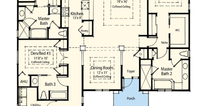 Dual Master Suite Energy Saver Floor