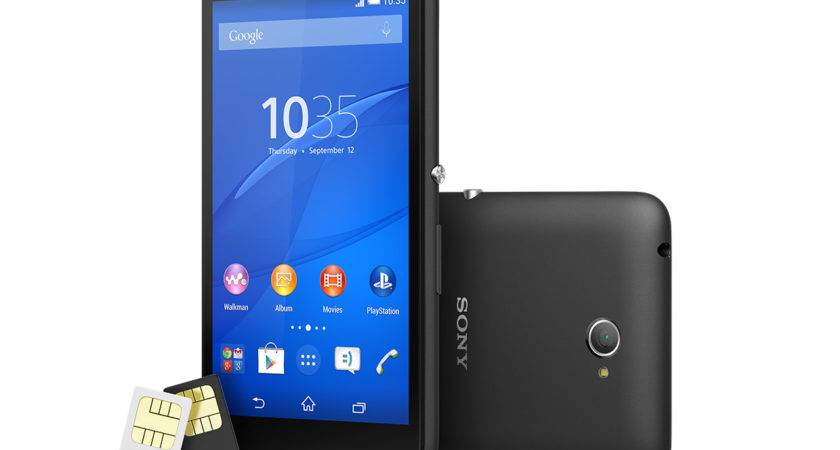 Dual Sim Affordable Mobile Sony Global English