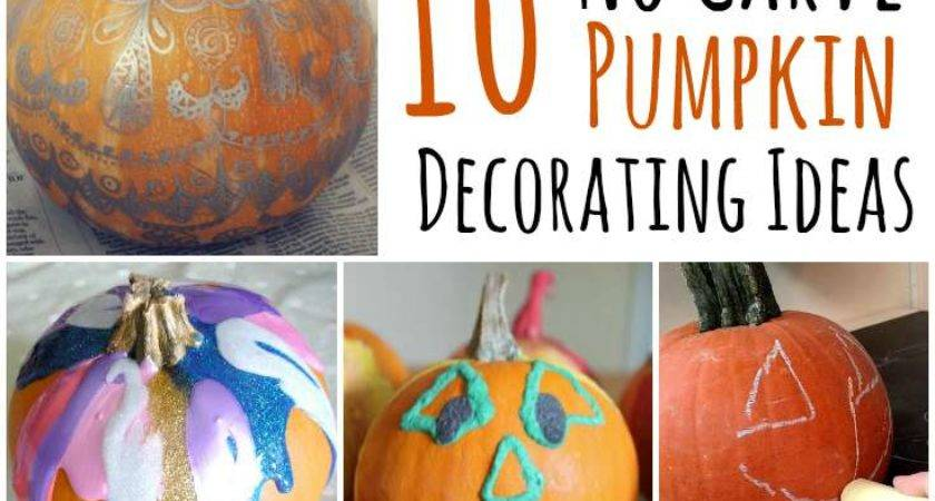 Easy Carve Pumpkin Decorating Ideas Your