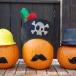 Easy Carve Pumpkin Decorating Ideas