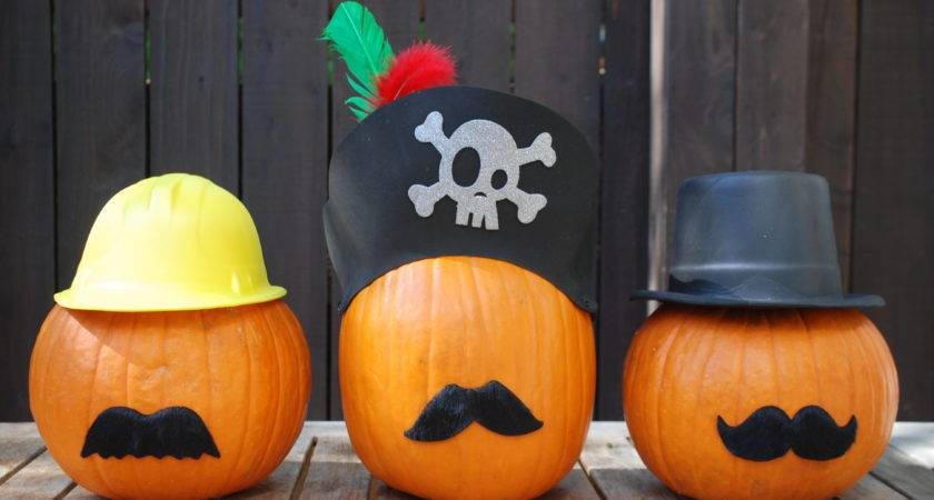 Easy Carve Pumpkin Decorating Ideas