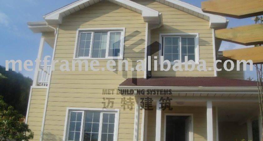 Economic Prefab House Ready Made Holiday Villas Sale