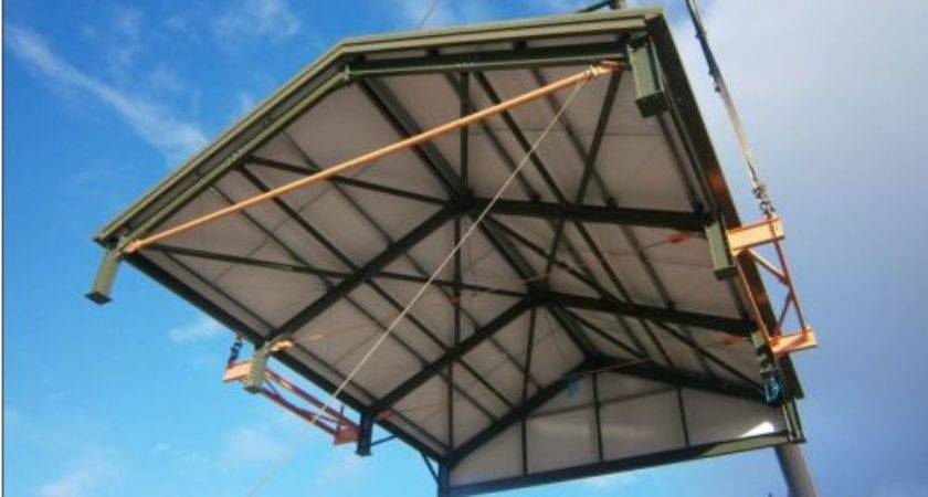 Edf Modular Roof Build Harry Peers Steelwork