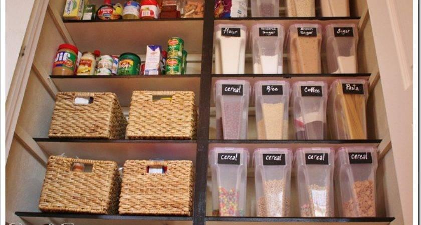 Elite Craft Homes Custom Organized Pantry