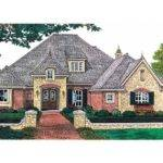 Eplans Chateau House Plan Elegant French Country Stylings