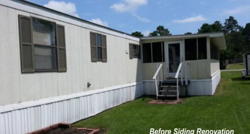 Exterior Mobile Home Improvements Appeal Value