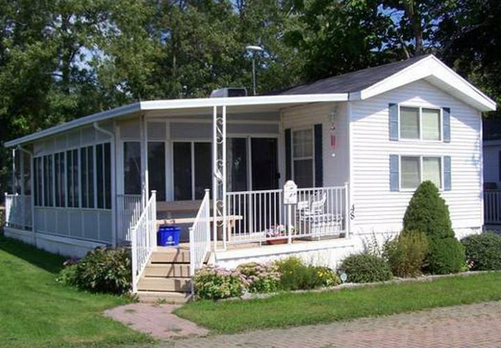 Exterior Mobile Home Painting Ideas Homes