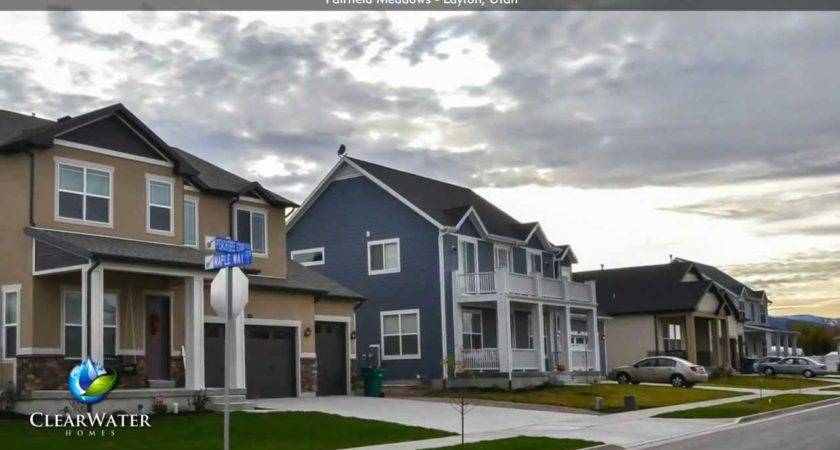 Fairfield Meadows New Homes Sale Layton Utah