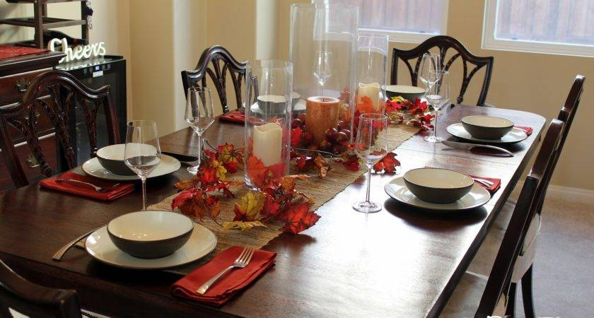 Fall Decorating Ideas Dining Room Table