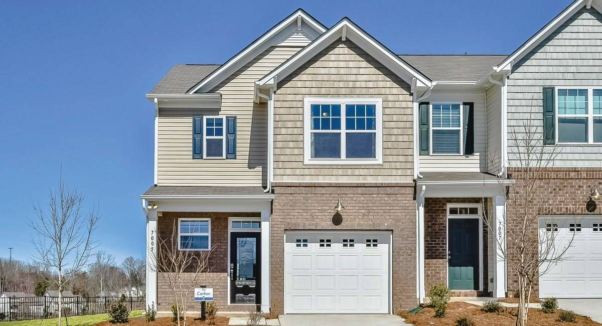 Farms Townhomes Lennar Gastonia North Carolina Newhomeguide