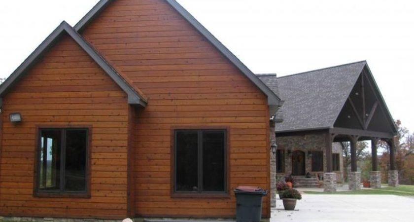 Faux Cedar Siding Log Cabin More