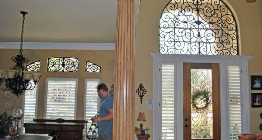Faux Iron Window Treatment Home Decor Pinterest