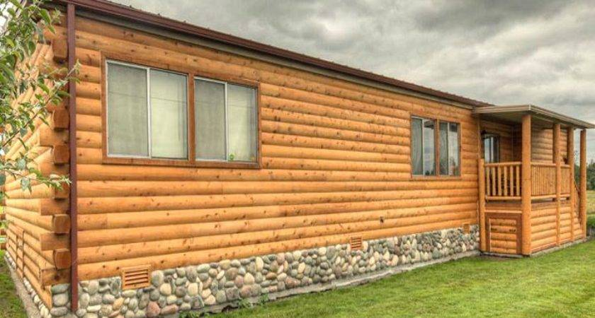 Faux Log Cabin Siding Whynotnow