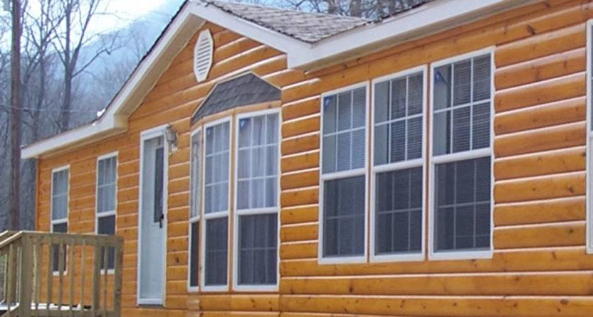 Faux Log Siding Pinterest Cabin