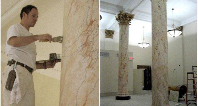 Faux Marble Grand Illusion Decorative Painting Inc