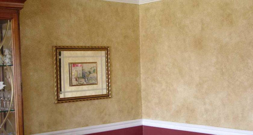 Faux Painting Techniques Walls Finishes