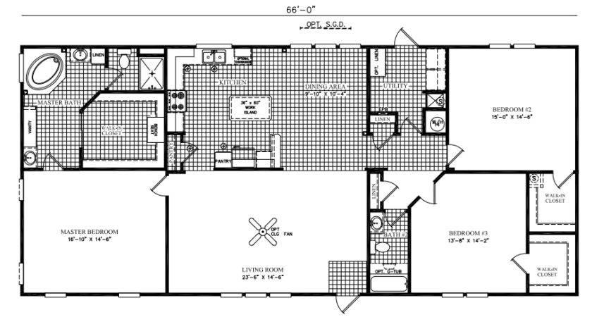 Fdm Manufactured Built Scotbilt Homes Oasis Augusta