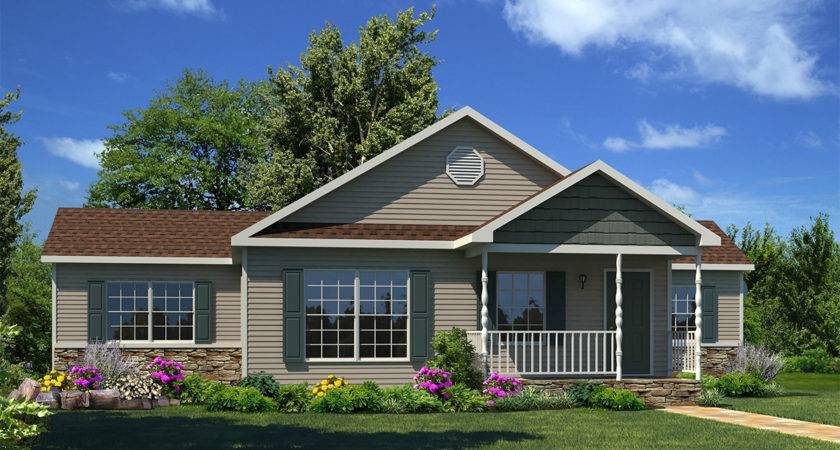Fern Hollow Ranch Style Modular Homes