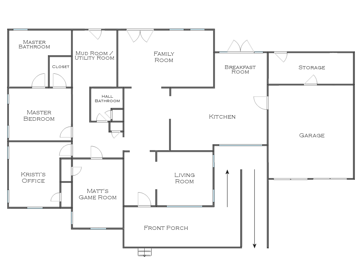 Finalized House Floor Plan Plus Some Random Plans Ideas
