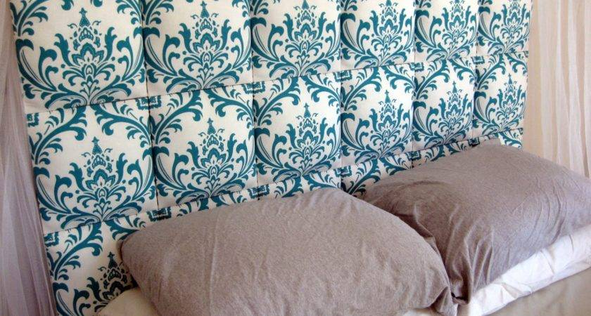 Finally Finished Upholstered Headboard Know Thrilled