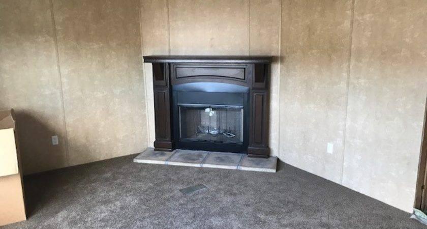Fireplace Mark Twain Mobile Homes