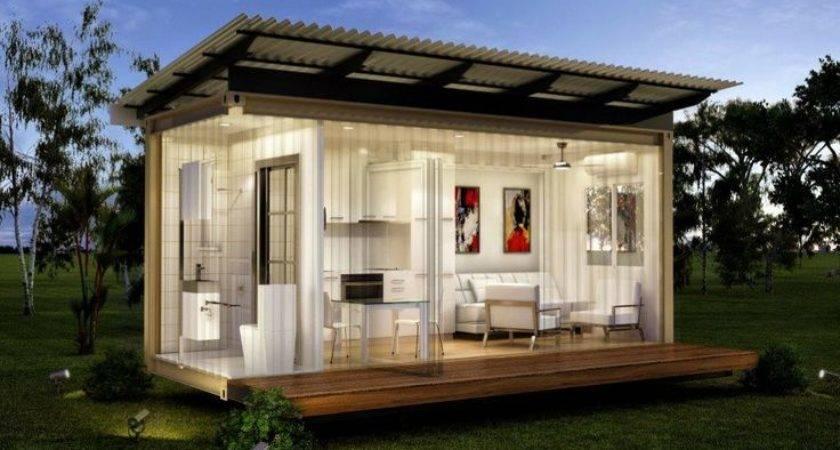 Flats One Bed Bath Prefabricated Modular Home High Quality