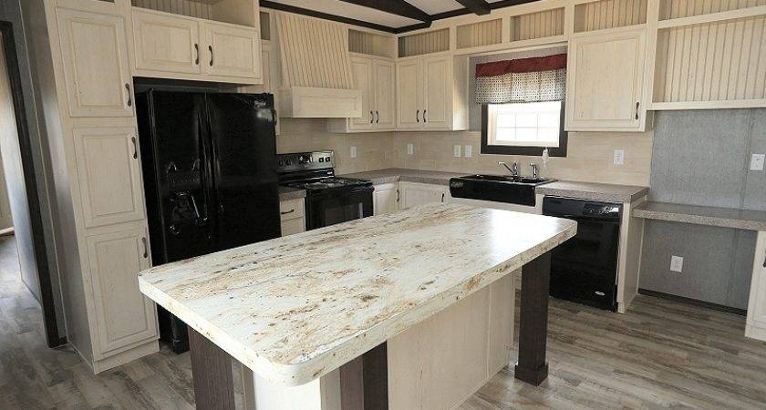 Fleetwood Green Hill Mobile Home Kitchen